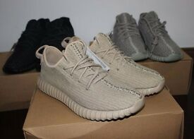 Brnad New Adidas Yeezy 350 Boost Oxford Tan Trainers with Box 3-12