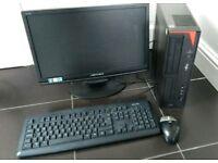 Fujitsu Windows 10 computer PC,4GB DDR3 RAM,750gb,Intel core i3 quad Core,WiFi,Office 2016,DVDRW
