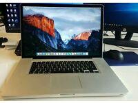 "Macbook Pro 17"" 2.3GHz i7/ 8GB ram/ 1gb AMD graphics card"