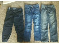 Boys jeans 10 and 10 - 11