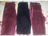 Hollister ladies leggings 3 pairs XS
