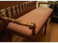 Chaise longue/end of bed stool