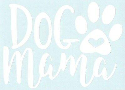 Dog Mama Car Truck Animal Suv vinyl sticker decal ()