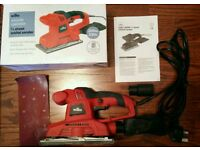 Electric orbital sander