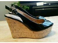 Size 3 wedge sandal