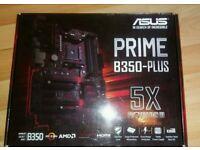 AMD Asus Prime B350-PLUS