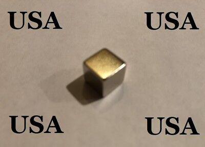 1 Magnet Usa Neodymium Block Square 10 X 10 X 10mm N52 Big Strong Rare Earth Us