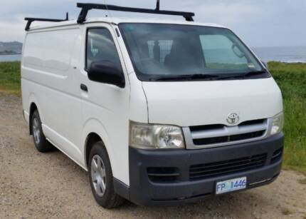 Toyota Hiace Van LWB Burnie Burnie Area Preview