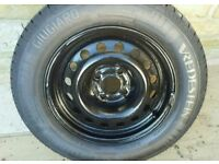 Citroen C5 Spare wheel with brand new tyre Vredestein Sportracs in size 195/65 R15 91H