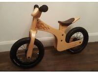 Early Rider wooden balance bike