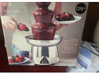 M & s chocolate fountain