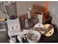 Morphy Richards select 404 food processor and blender