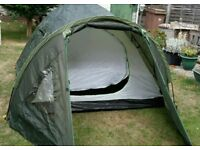 3 BERTH TENT with FRONT PORCH & WINDOWS