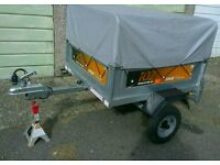 Trailer Erde 101.with high extension kit