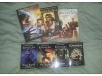 Dragon age book and comic bundle