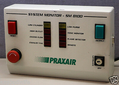 Praxair Sm8100 System Monitor Monitoring Device