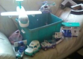 Collection of Animal hospital toys