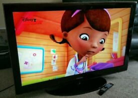 """SAMSUNG 42"""" TV FULL HD BUILT IN FREEVIEW EXCELLENT CONDITION. REMOTE CONTROL HDMI FULLY WORKING"""
