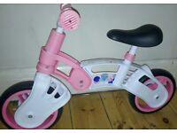 Girl's balance bike