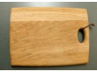 Oak chopping board