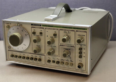 Leader Electronics Lfg-1300s Function Generator Guaranteed Working