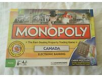 Canadian Monopoly game - Mint condition