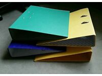 4 Lever Arch Folders