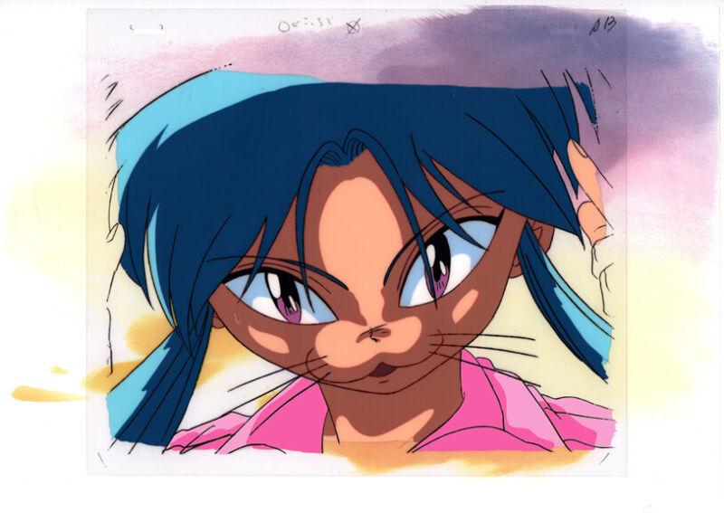 Yu Yu Hakusho Anime Animation Production Cel Douga Botan Cat Face Studio Pierott
