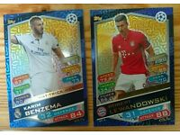 Match Attax 2017 Champions League Hatrick Hero cards