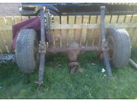 Ford ranger 1996-2006 rear axle, brand new leaf springs, shockie rear differential