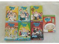 FAMILY GUY DVD'S