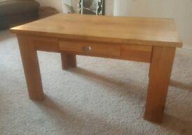 Lovely Oak Coffee Table 90x60x47.5