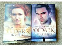 "2 books of the collection ""Poldark"""