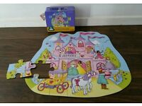 Girls Enchanted Castle Jigsaw / Toy