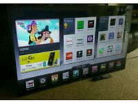 "LG 60"" Slim. FULL HD SMART TV WITH BUILT IN WiFi FREEVIEW HD, HDMI NEW CONDITION FULLY WORKING"