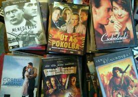 Big bundle of Hungarian dvds