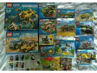 Lego sets, polybags and minifigures swaps