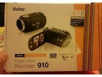 Brand new Vivitar HD digital Video Recorder 910