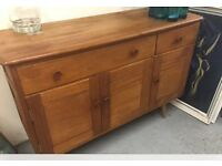 Stunning Ercol 1950s Sideboard beech and elm