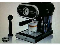 Silvercrest ESPRESSO COFFEE MACHINE WITH PORTAFILTER SYSTEM, Brand New, Box Unopened