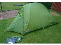VAUDE HOGAN ULTRALIGHT 1 LIGHTWEIGHT MOUNTAIN TENT EQUIPMENT RAB MSR ALPKIT TERRA NOVA