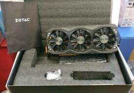 Boxed zotac gtx 980ti amp! Extreme 6gb