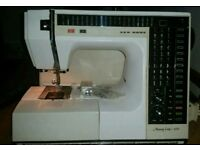 Newhome heavy-duty different pattern 600 memory craft sewing machine