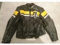 Leather Motorbike (Raw) Jacket