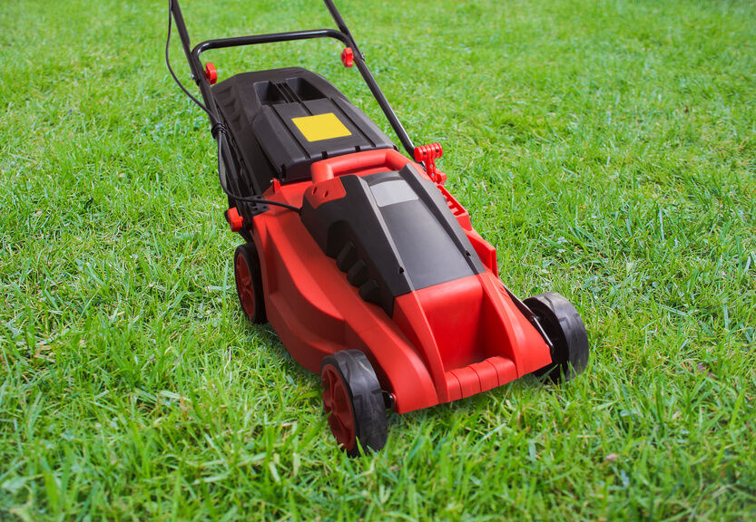 how to cut lawn mower throttle cable