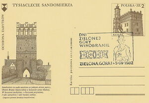 Poland postmark ZIELONA GORA - grape harvest 1982 - Bystra Slaska, Polska - Poland postmark ZIELONA GORA - grape harvest 1982 - Bystra Slaska, Polska