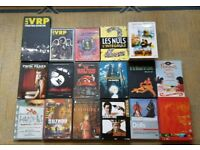 VARIOUS DVDS FROM FRANCE