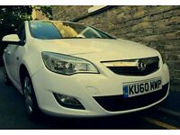 Vauxhall astra j 1.3 diesel white cdti eco flex 5 4 door hatch back. Not audi a1 a3 bmw 1 vw