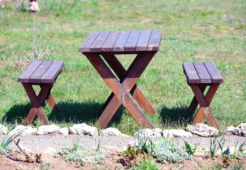 How to Build a Round Picnic Table and Benches | eBay