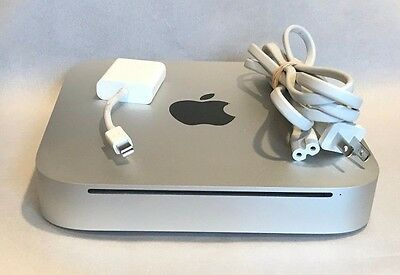 Apple Mac Mini A1347 Desktop - Intel Core 2 Duo 2GB 320GB - MC270LL/A